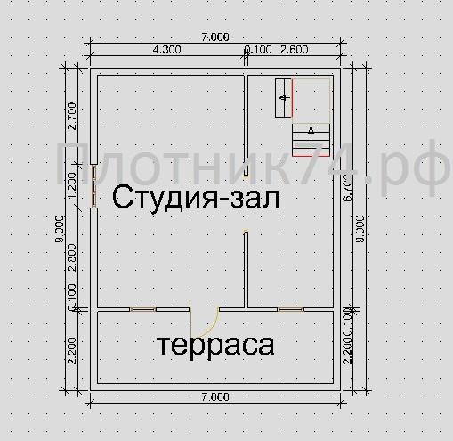 Проект1.1этаж