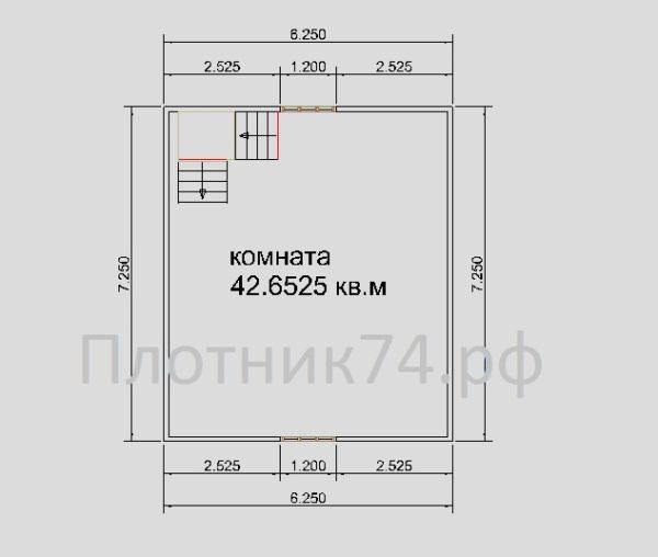 План дома.2этаж