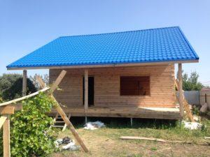 Дом из проф.бруса. Копейск
